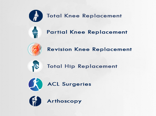 Partial knee replacement surgeries