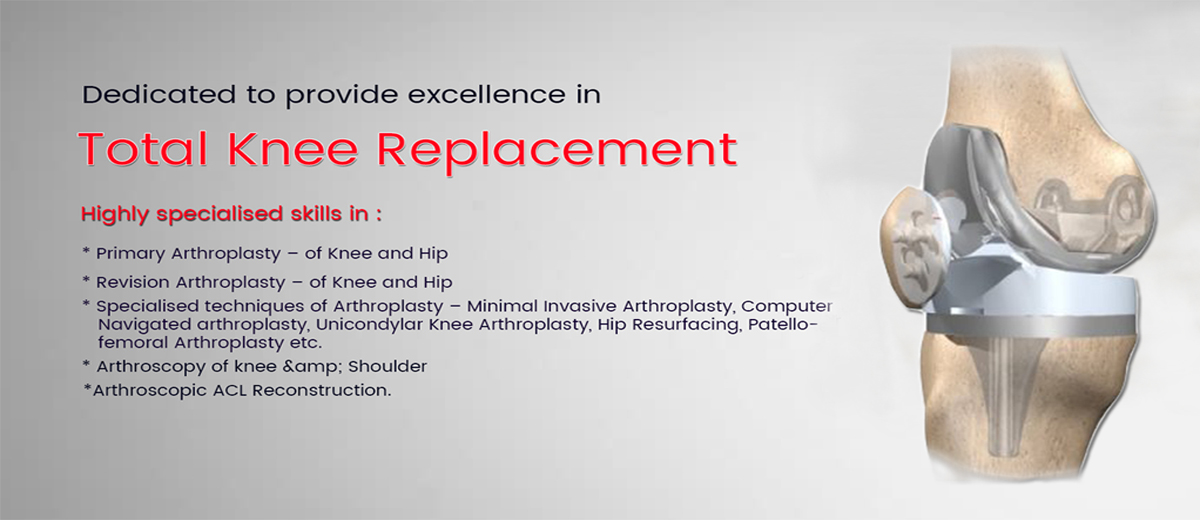 Knee repklacement surgeries